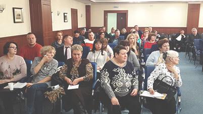 Участники семинара в Сургуте