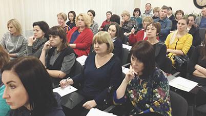 Участники семинара в Иркутске