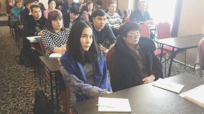 Участники семинара АКАТО в Улан-Удэ