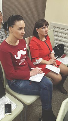 Участницы семинара в Кемерово