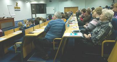Участники семинара АКАТО в Санкт-Петербурге