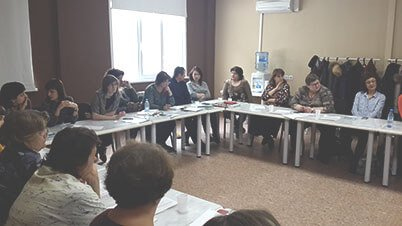 Участники семинара АКАТО в Новосибирске