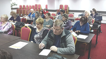 Участники семинара АКАТО в Красноярске