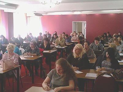 Участники двухдневного семинара АКАТО во Владивостоке